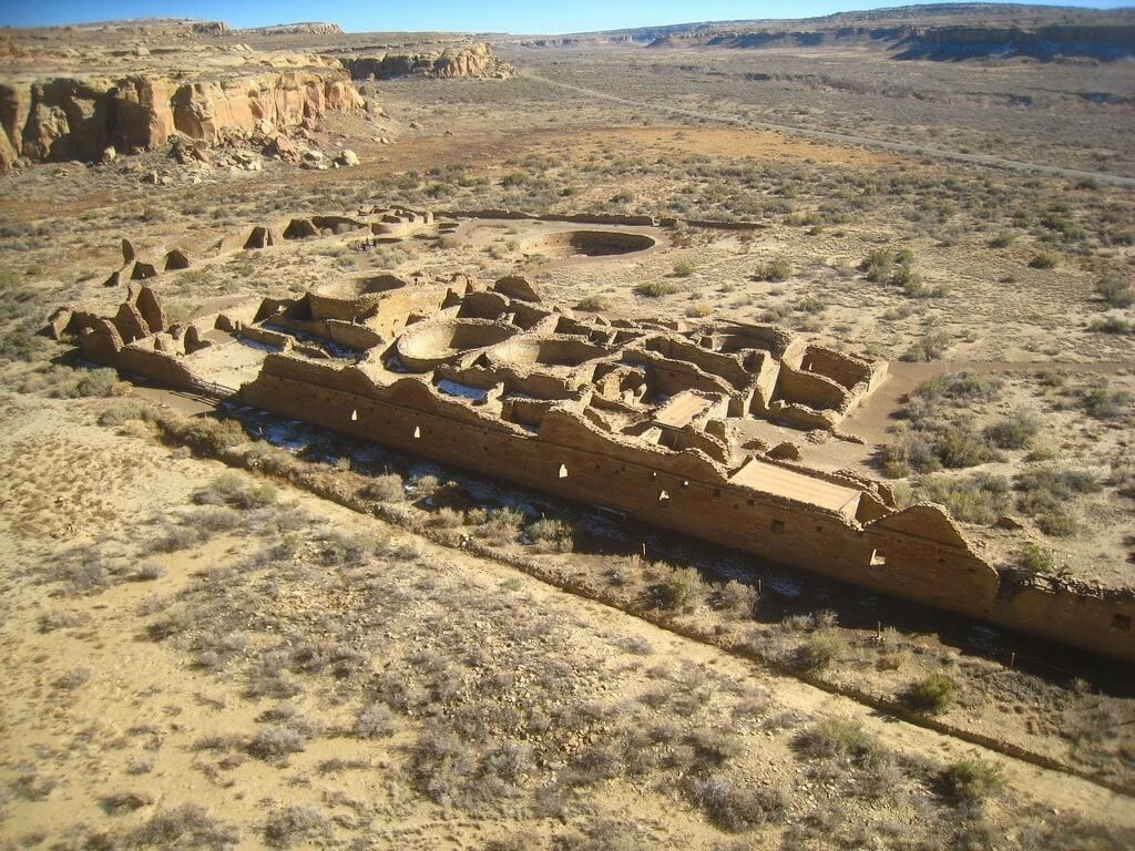 Chaco Canyon Camping RV